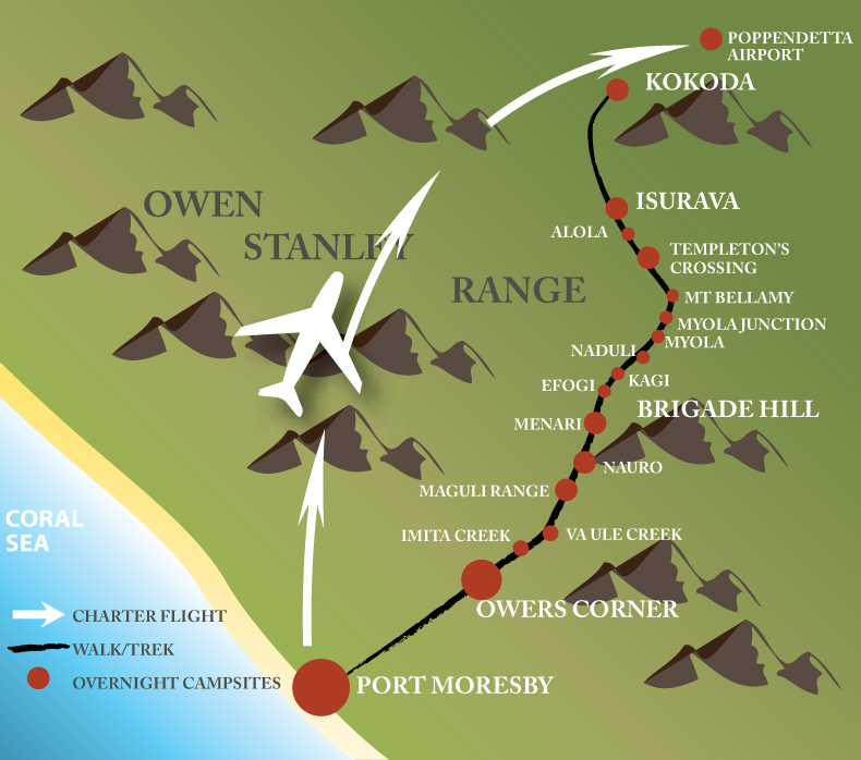 account of the battle of kokoda track What then ensued was a tug of war between the japanese and australian troops along the kokoda trail - the japanese pushed the papuan infantry battalion and maroubra force out of the town of kokoda the australians counter-attacked on 8 august.